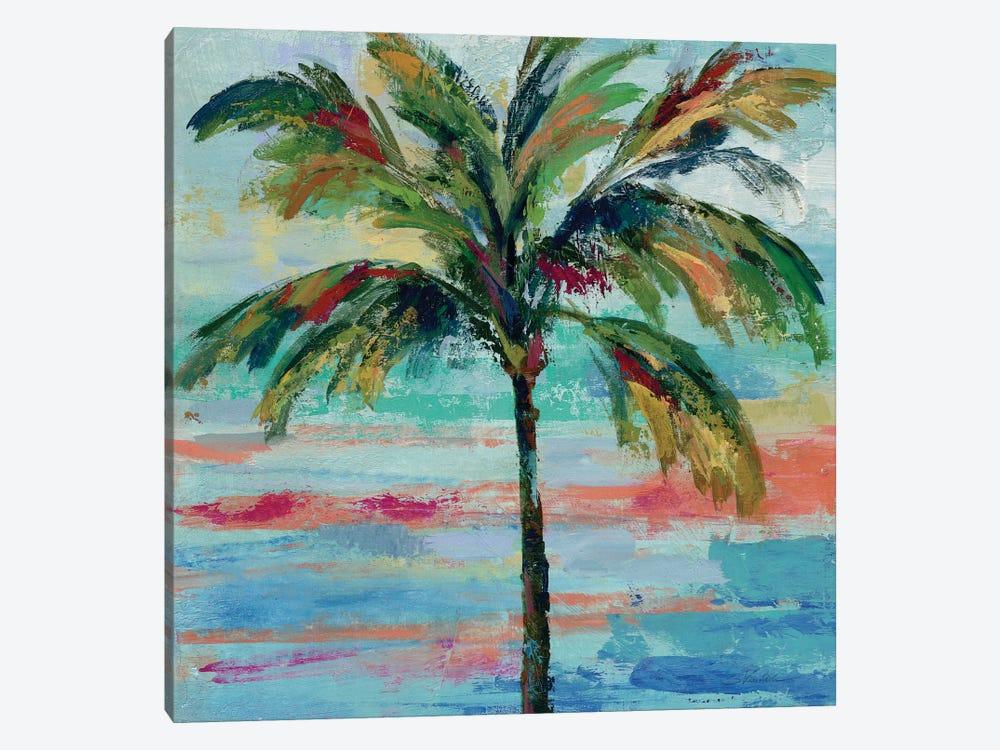 California Palm II by Silvia Vassileva 1-piece Canvas Artwork