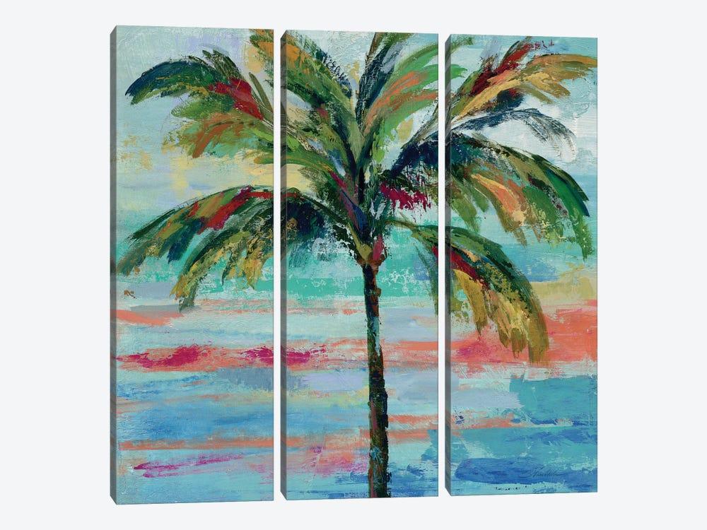 California Palm II by Silvia Vassileva 3-piece Canvas Artwork