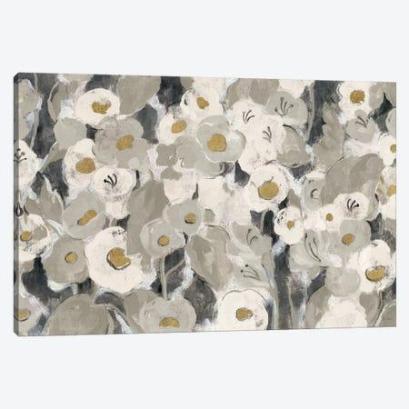 Velvety Florals Neutral I Canvas Print #WAC4069} by Silvia Vassileva Canvas Print