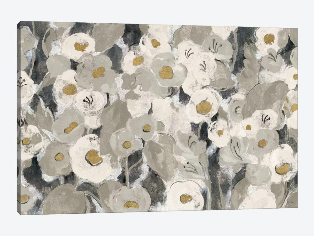 Velvety Florals Neutral I by Silvia Vassileva 1-piece Art Print