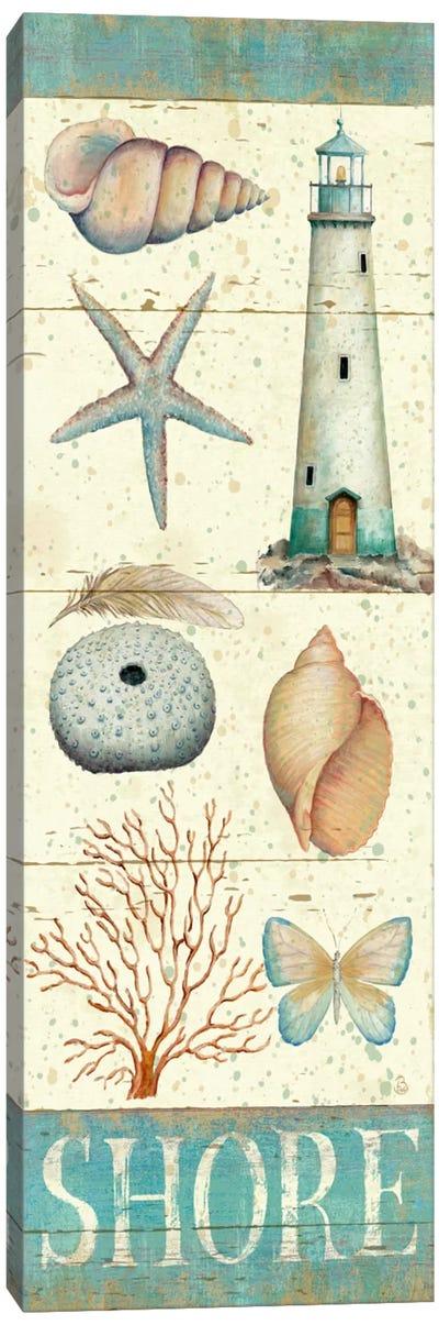 Pastel Coast Panel II  Canvas Print #WAC408