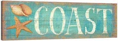 Pastel Coast  Canvas Print #WAC409