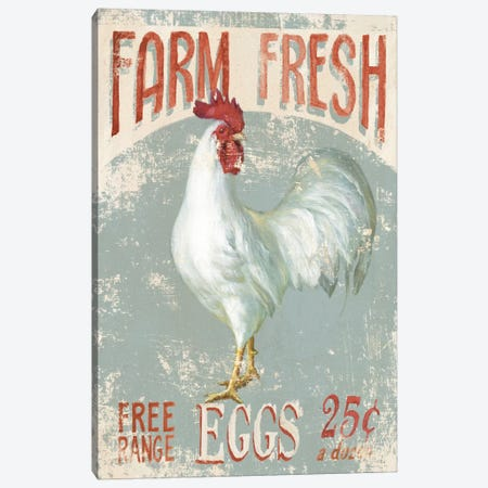 Farm Nostalgia III Canvas Print #WAC4102} by Danhui Nai Canvas Wall Art