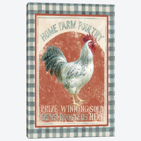Farm Nostalgia VIII Canvas Print #WAC4106} by Danhui Nai Canvas Art Print