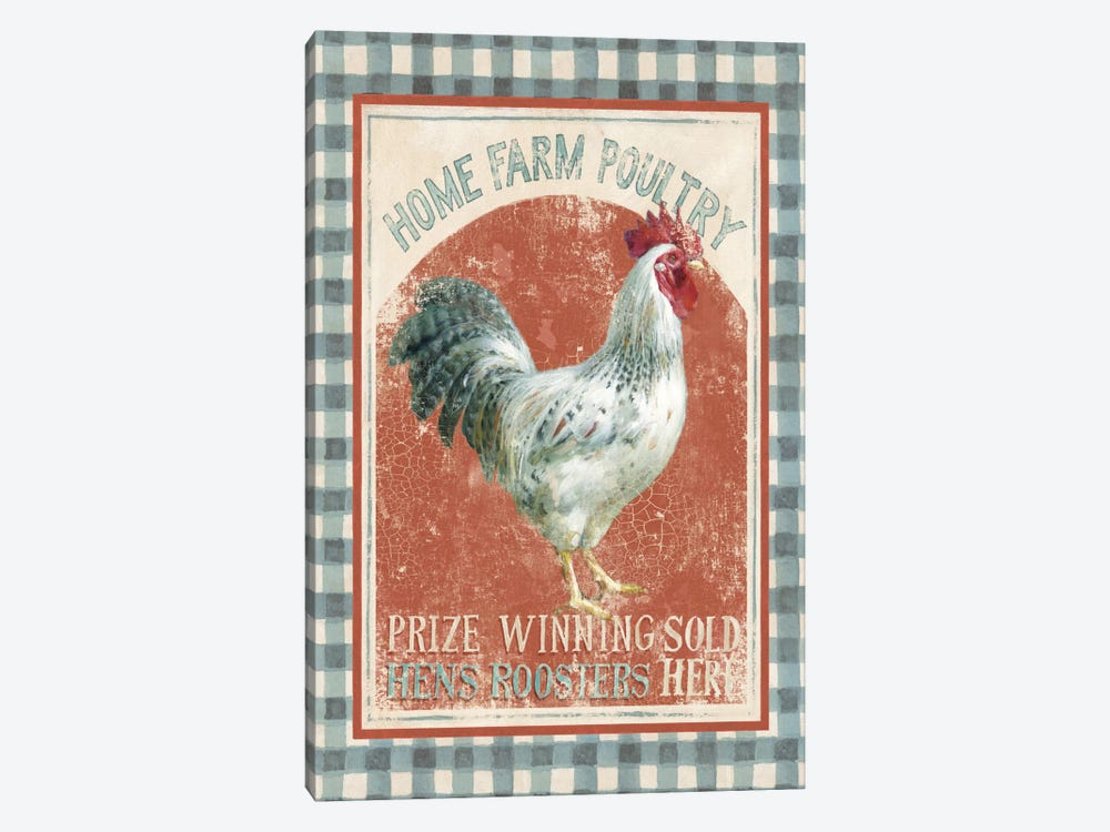 Farm Nostalgia VIII by Danhui Nai 1-piece Canvas Art Print