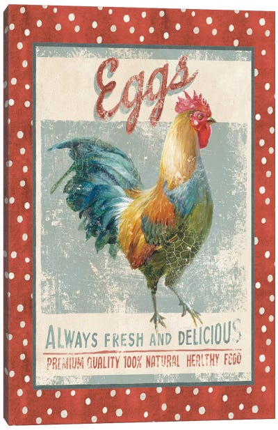 Farm Nostalgia X Canvas Print #WAC4107
