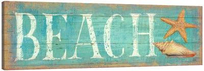 Pastel Beach  Canvas Print #WAC412