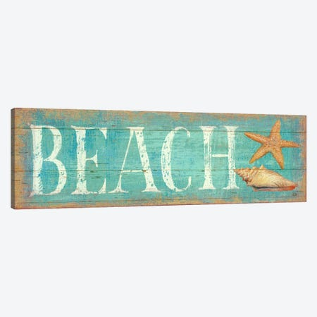 Pastel Beach  Canvas Print #WAC412} by Daphne Brissonnet Canvas Print