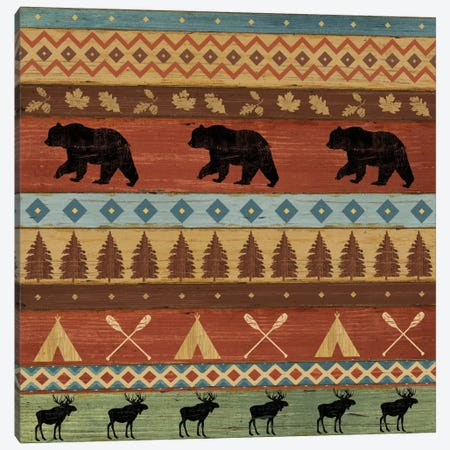 Lake Lodge Step V Canvas Print #WAC4140} by Sue Schlabach Canvas Artwork