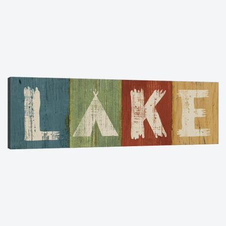 Lake Lodge V Canvas Print #WAC4141} by Sue Schlabach Canvas Artwork