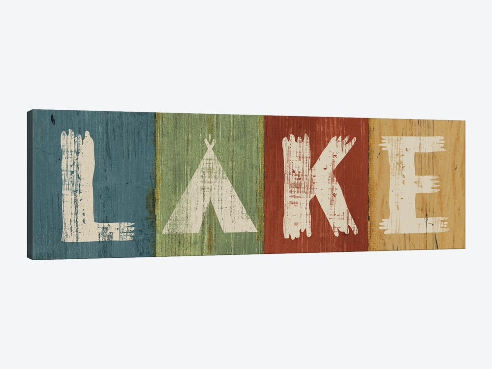 Lake Lodge V by Sue Schlabach 1-piece Canvas Art