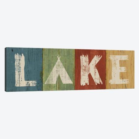 Lake Lodge V Canvas Print #WAC4141} by Sue Schlabach Canvas Artwork