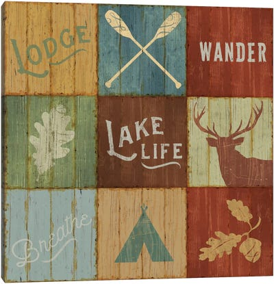 Lake Lodge VII Canvas Art Print