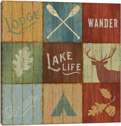 Lake Lodge VII Canvas Print #WAC4143