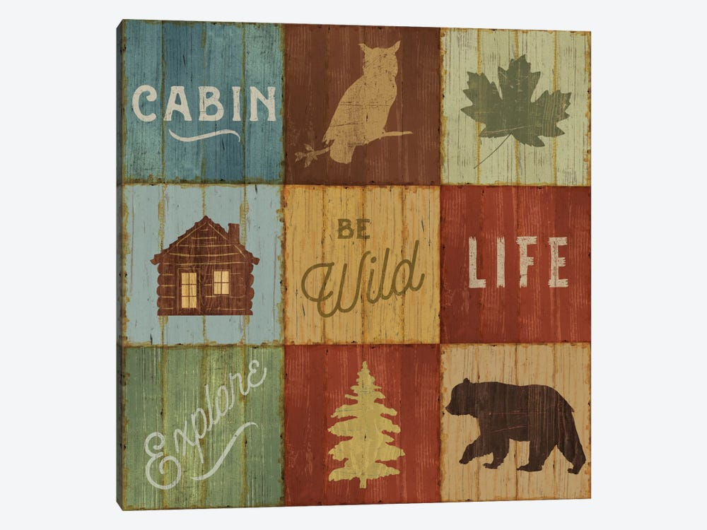 Lake Lodge VIII 1-piece Canvas Print
