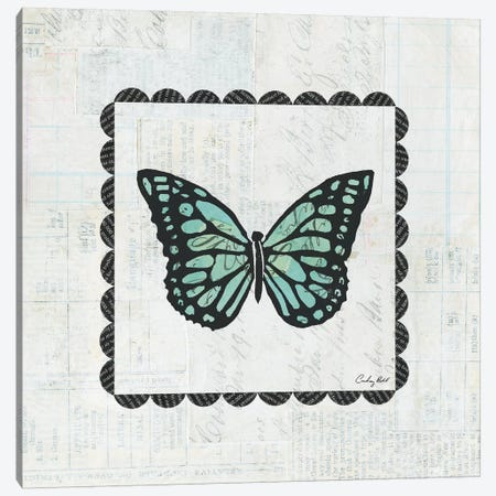 Butterfly Stamp Canvas Print #WAC4166} by Courtney Prahl Canvas Print