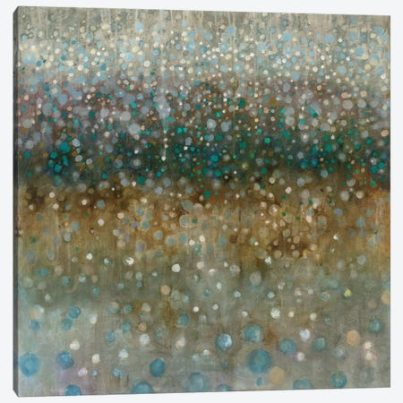 Abstract Rain Canvas Print #WAC4169} by Danhui Nai Canvas Artwork