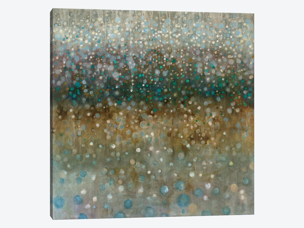 Abstract Rain by Danhui Nai 1-piece Canvas Wall Art