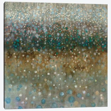 Abstract Rain Canvas Print #WAC4169} by Danhui Nai Canvas Artwork