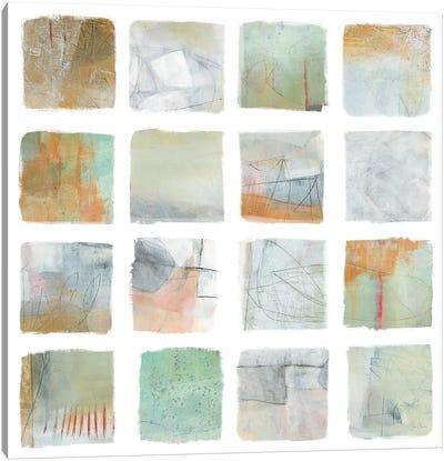 The Misty Fields Canvas Art Print