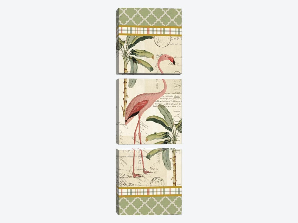 Floridian V by Katie Pertiet 3-piece Canvas Print