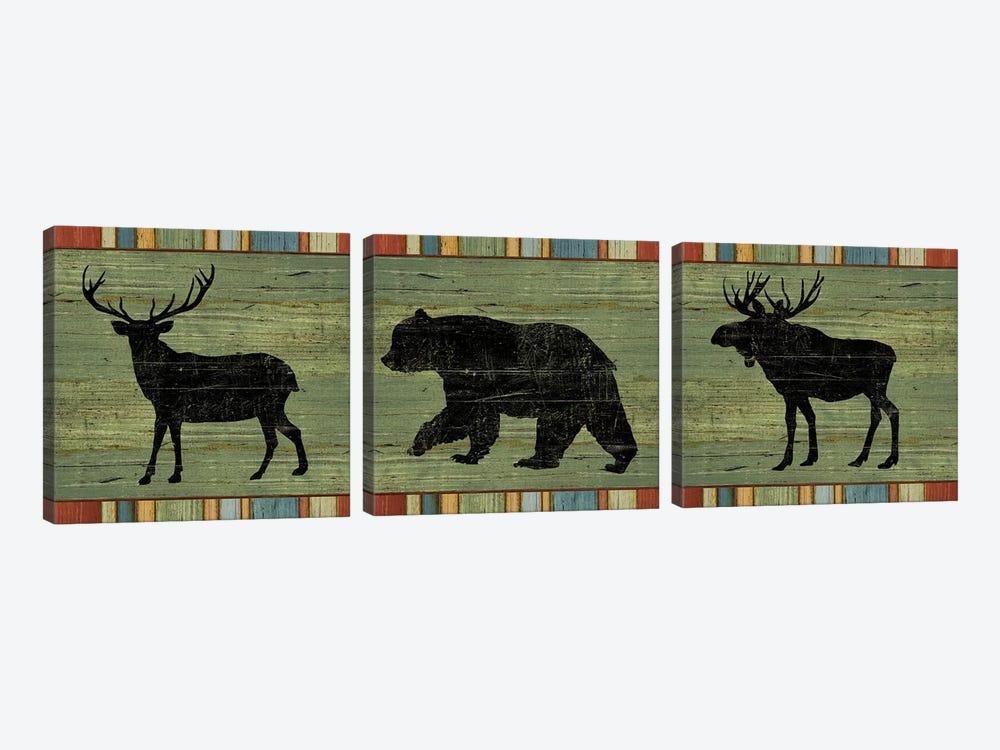 Lake Lodge XIV by Sue Schlabach 3-piece Canvas Art Print