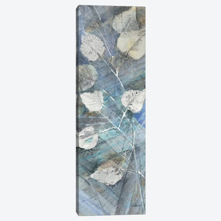 Silver Leaves I Canvas Print #WAC4190} by Albena Hristova Canvas Print