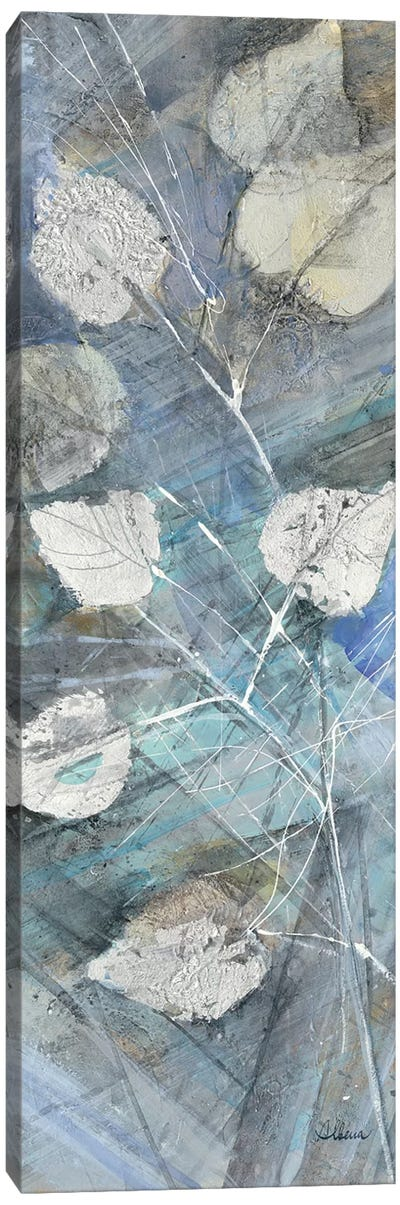 Silver Leaves I Canvas Art Print