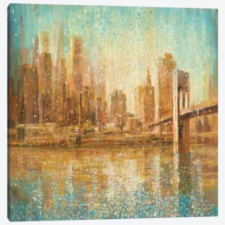 Champagne City Canvas Print #WAC4192} by Danhui Nai Canvas Art Print