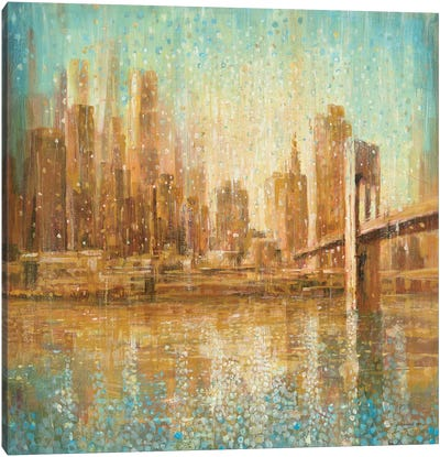 Champagne City Canvas Art Print