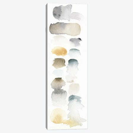 Watercolor Swatch Panel (Neutral) I Canvas Print #WAC4199} by Elyse DeNeige Canvas Print