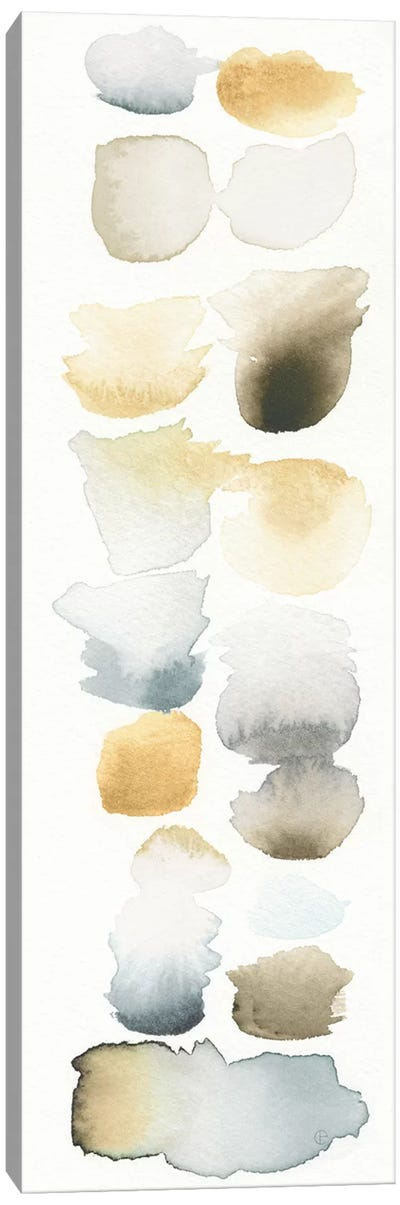 Watercolor Swatch Panel (Neutral) II Canvas Art Print