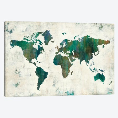 Discover The World Canvas Print #WAC4201} by Melissa Averinos Canvas Print