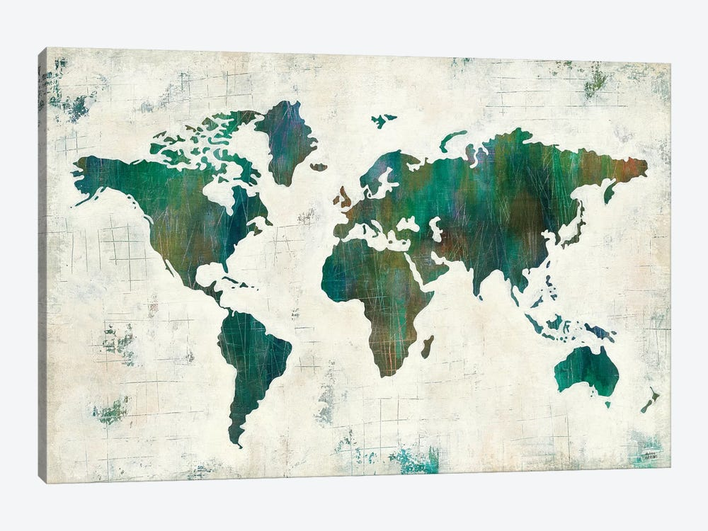 Discover The World by Melissa Averinos 1-piece Canvas Artwork