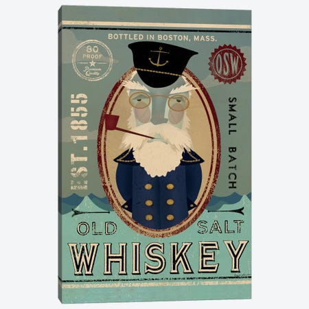 Old Salt Whiskey (Fisherman III) Canvas Print #WAC4202} by Ryan Fowler Canvas Print