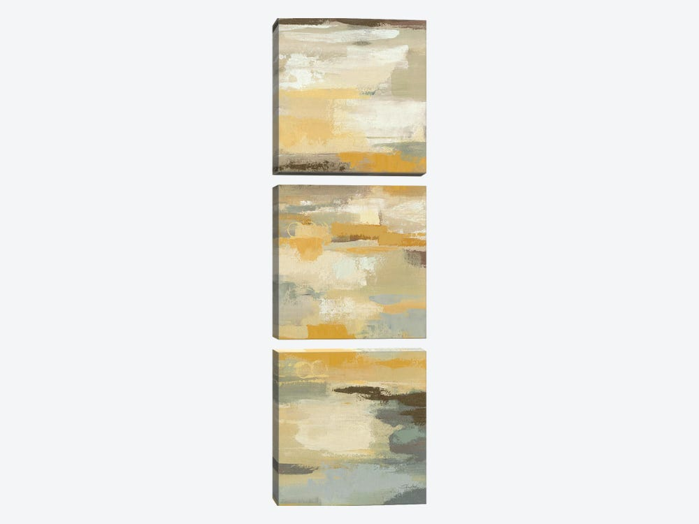Earth Abstracts I 3-piece Canvas Art Print