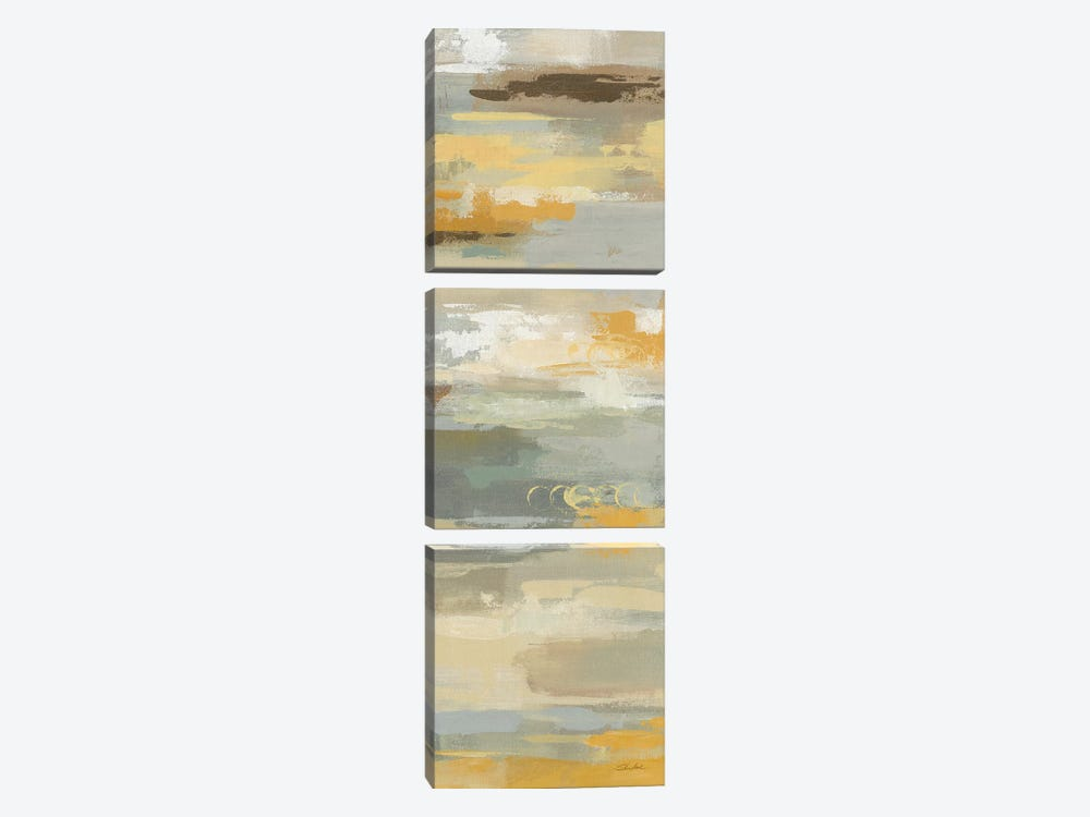 Earth Abstracts II by Silvia Vassileva 3-piece Canvas Artwork