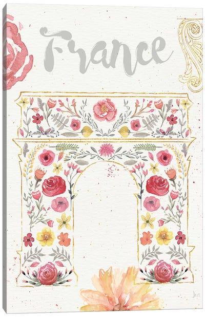 Paris Blooms II Canvas Print #WAC4210