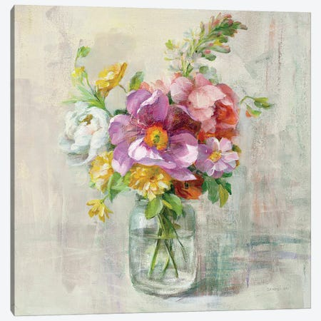 Summer Treasures II Canvas Print #WAC4216} by Danhui Nai Art Print