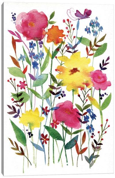 Annes Flowers III Canvas Print #WAC4219