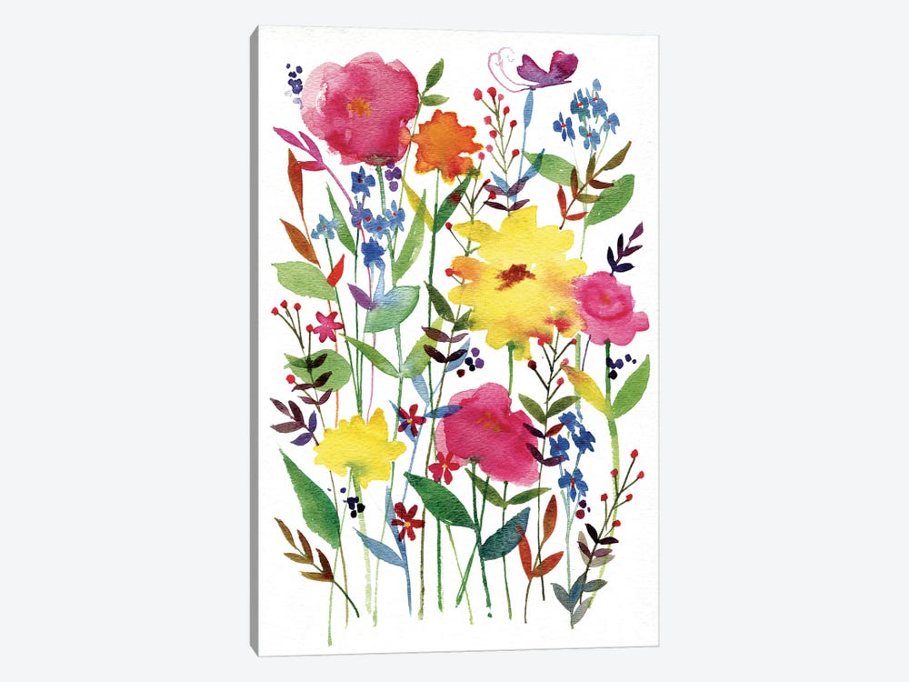 Annes Flowers III by Anne Tavoletti 1-piece Art Print