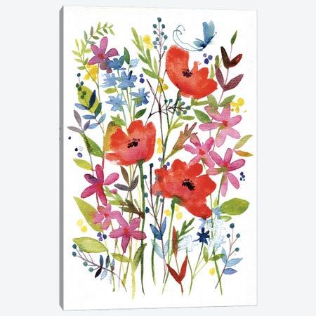 Annes Flowers IV Canvas Print #WAC4220} by Anne Tavoletti Canvas Print