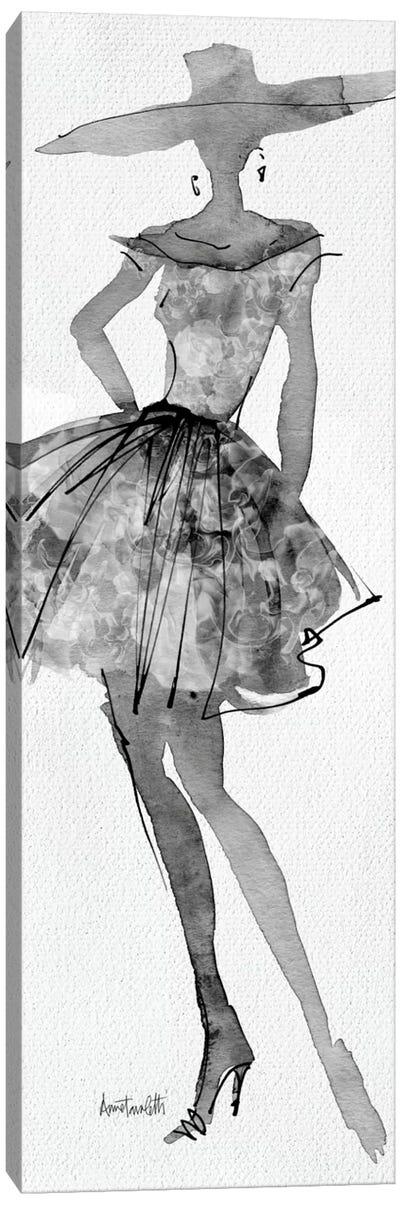 Fashion Sketchbook V Canvas Art Print