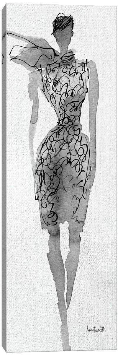 Fashion Sketchbook VIII Canvas Print #WAC4222