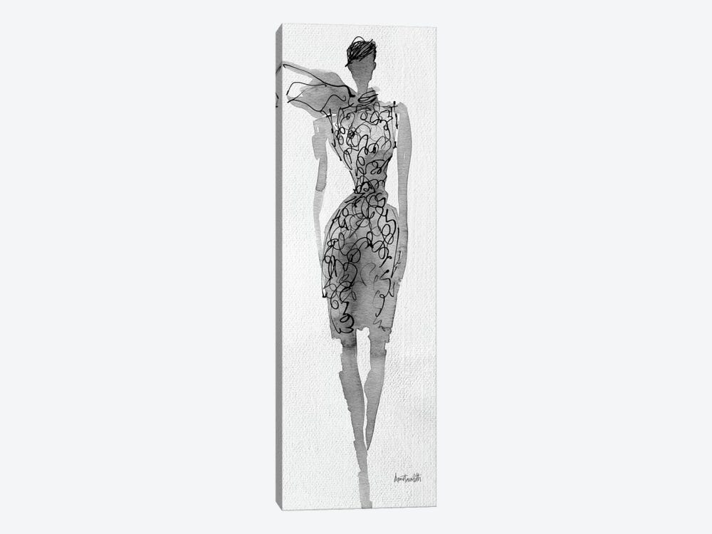 Fashion Sketchbook VIII 1-piece Canvas Art Print
