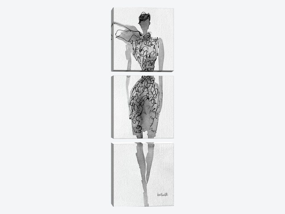 Fashion Sketchbook VIII by Anne Tavoletti 3-piece Art Print