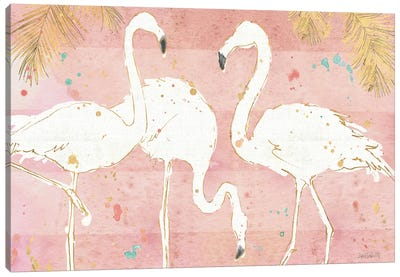 Flamingo Fever IV Canvas Art Print