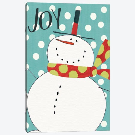 Whimsy Winterland II Canvas Print #WAC4224} by Anne Tavoletti Canvas Wall Art