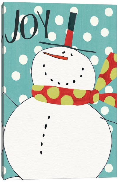 Whimsy Winterland II Canvas Art Print
