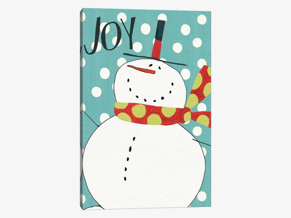 Whimsy Winterland II 1-piece Canvas Print